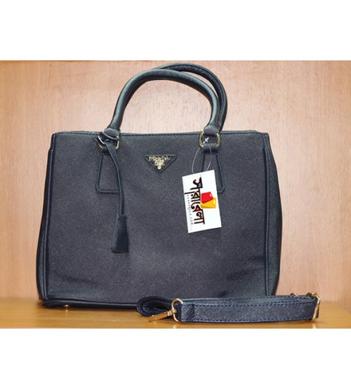 Prada Navy Blue Ladies Bag