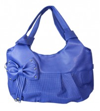 Blue Bow Ladies Bag