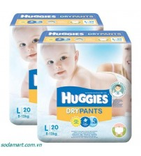 Huggies Dry Pants L 20s(8-13kg)