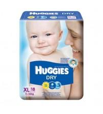 Huggies Dry XL 18s(11-16kg)