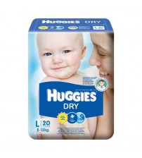 Huggies Dry L 20s(8-13kg)