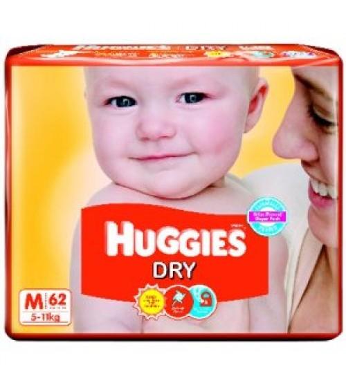 Huggies Dry New M 62s(5-11kg)