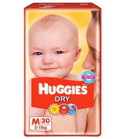 Huggies Dry New M 30s(5-11kg)